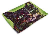 Colorful Cat Placemats Design 10