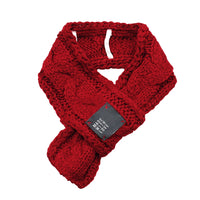 Warm Winter Cat Fashion Scarf Red