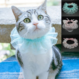 Frilly Cat Fashion Lace Collar