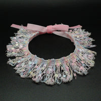 Frilly Cat Fashion Lace Collar Pink 1
