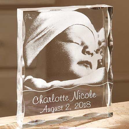 Personalize a 3d Crystal for the Holidays