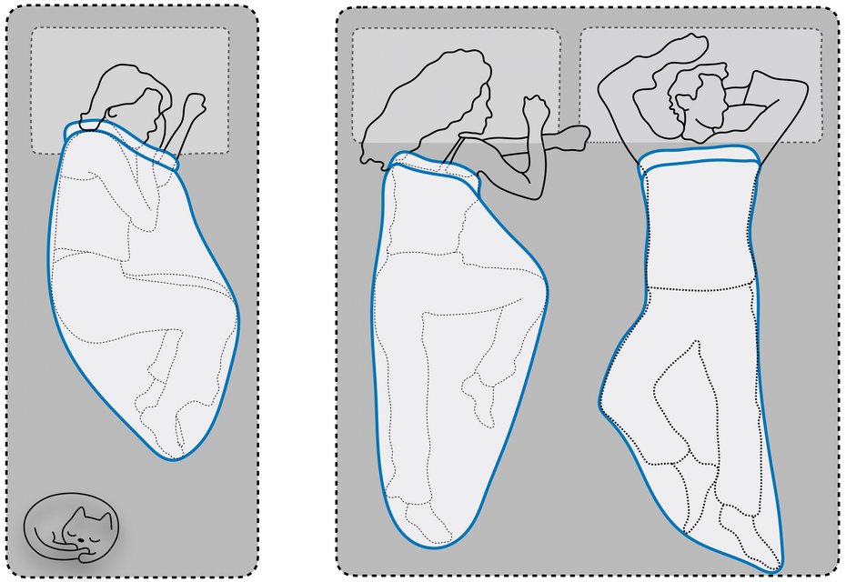 Sleep Pod positions