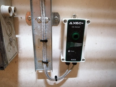 Fixed CO₂ Detector Full System for Breweries & Wineries