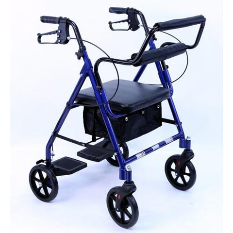 Karman R-4602-T Two-in-One Rollator and Transport Chair - EZ MedBuy