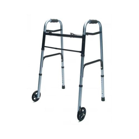 Lumex Muti Color - Option Adult Walker with Wheels - EZ MedBuy