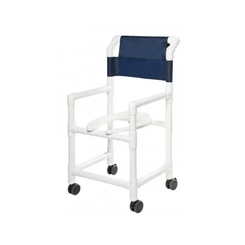 PVC Shower Commode Chair - EZ MedBuy