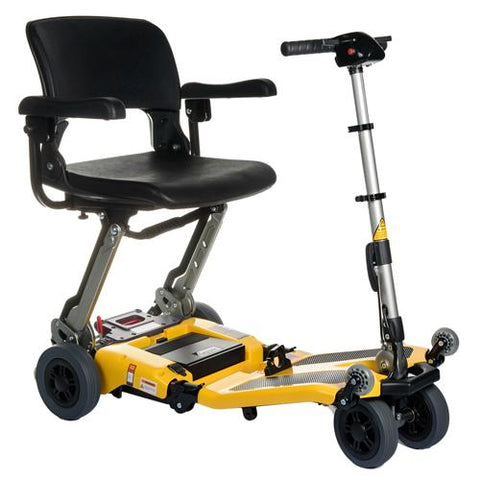 Luggie Super Heavy-Duty Folding Travel Scooter - EZ MedBuy