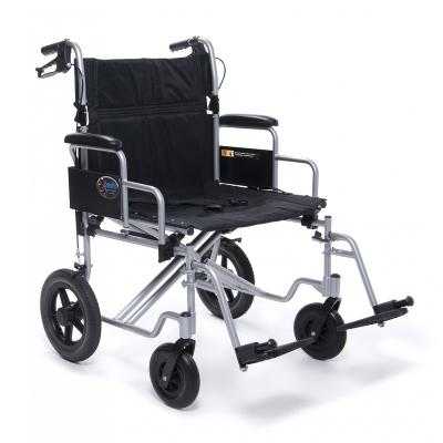 Bariatric Transport Foldable Manual Wheelchair - EZ MedBuy