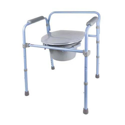Carex Deluxe Folding Commode - EZ MedBuy