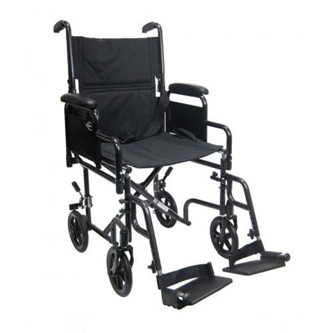 T-2700 Removable Arm Transport Chair - EZ MedBuy
