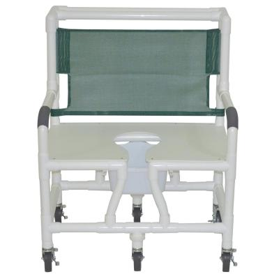 "30"" Bariatric Commode Bath Chair - EZ MedBuy"