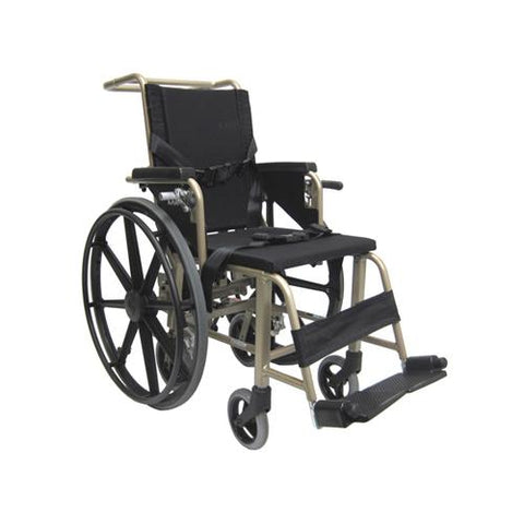 KMAA20 Convertible Airplane Aisle Manual Wheelchair - EZ MedBuy