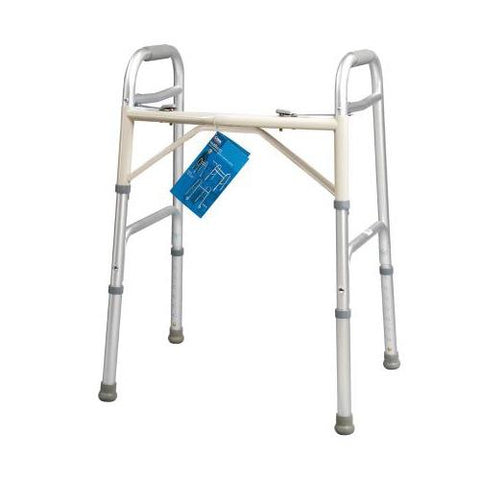 Carex Dual Button Extra-Wide Walker - EZ MedBuy