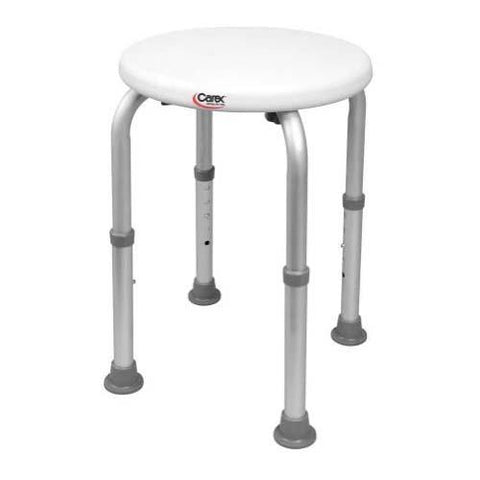 Carex Compact Round Shower Stool - EZ MedBuy