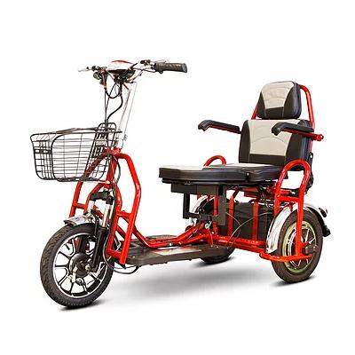 EW-02 Bariatric Folding 3-Wheel Mobility Scooter - EZ MedBuy