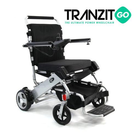 Tranzit Go Foldable Power Wheelchair - EZ MedBuy