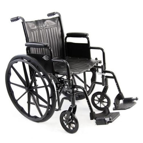 KN-700T Standard Steel Manual Wheelchair - EZ MedBuy