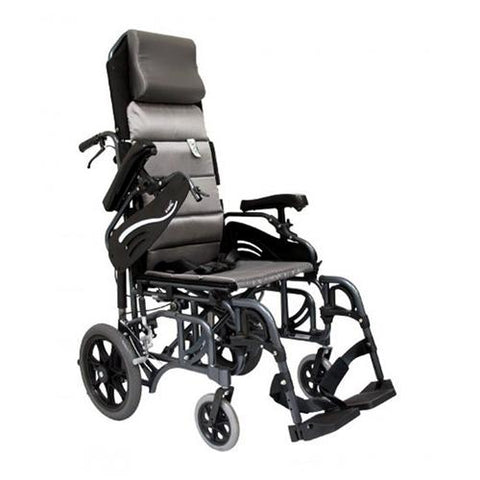 Karman VIP-515-TP Tilt-In-Space Reclining Transport Chair
