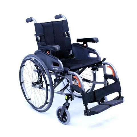 Flexx Ultra Lightweight Fully Adjustable Manual Wheelchair - EZ MedBuy