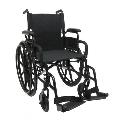 802-DY Ultra-Lightweight Foldable Manual Wheelchair - EZ MedBuy