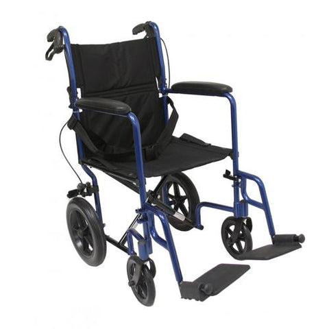 LT-1000 Lightweight Transport Manual Wheelchair - EZ MedBuy