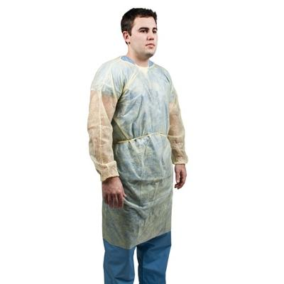 Polypropylene Isolation Gown - EZ MedBuy