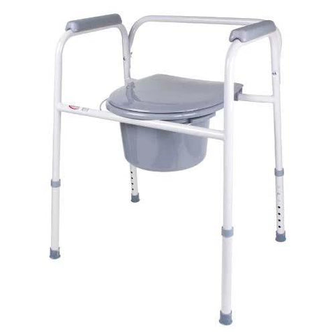Carex Classics Steel Commode - EZ MedBuy