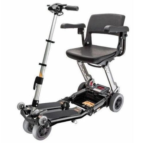 Luggie Deluxe 4-Wheel Folding Travel Scooter - EZ MedBuy