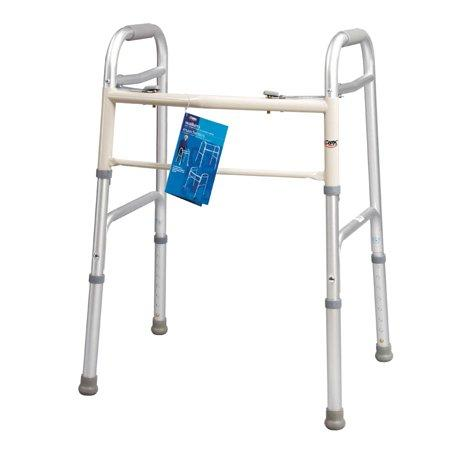 Carex Dual Button Mobility Walker - EZ MedBuy