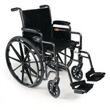 Traveler SE Manual Adjustable Height Wheelchair - EZ MedBuy