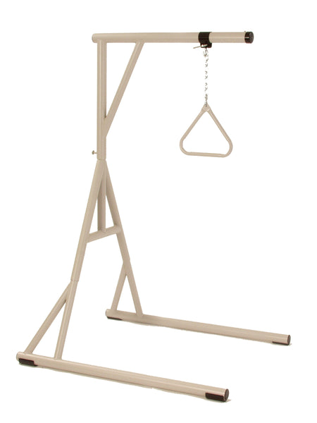Bariatric Floor Stand with Trapeze - EZ MedBuy