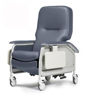 Deluxe Clinical Care Recliner with Heat & Massage - EZ MedBuy