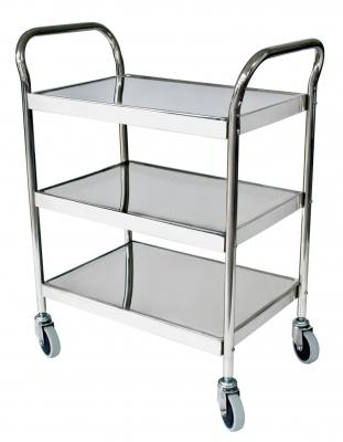 Stainless Steel Utility Cart - EZ MedBuy