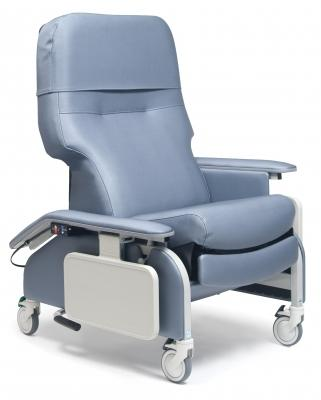 Graham-Field Deluxe Clinical Care Recliner with Drop Arms, Heat & Massage