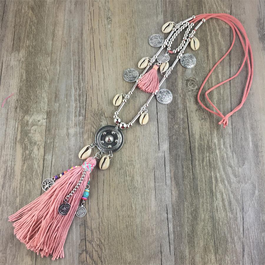 Necklace Tassel Alloy
