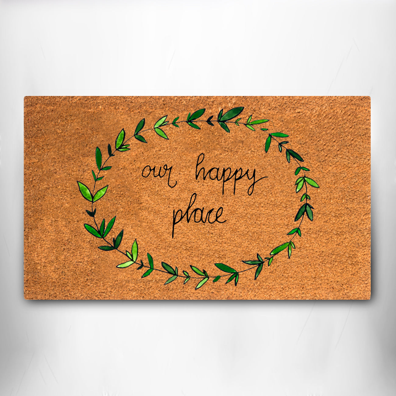 """Coco Coir - Our Happy Place - 18"""" x 30"""""""