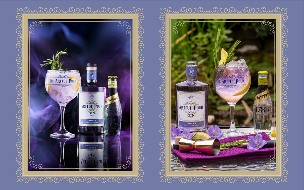 The Artful Pour Original Collection - Yorkshire Violet Gin
