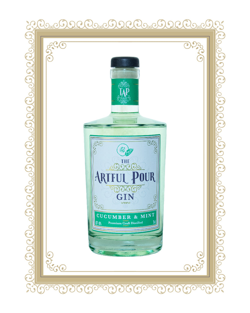 Cucumber & Mint Artisan Premium Craft Gin
