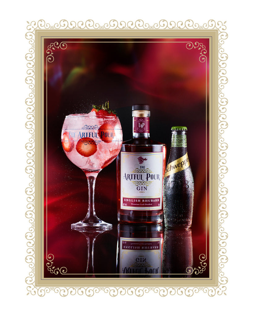 English Rhubarb Artisan Premium Craft Gin