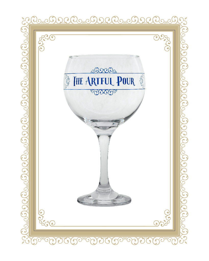 The Artful Pour Premium Copa Gin Glass