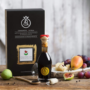 Traditional DOP Balsamic Vinegar of Reggio Emilia Gold Stamp (Bollino Oro)