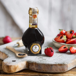 Traditional DOP Balsamic Vinegar of Modena Aged and Extra-aged (Affinato and Extravecchio)
