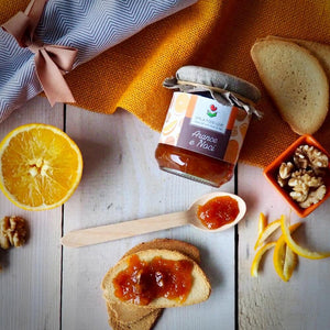 Orange and Walnuts Jam - EMILIA FOOD LOVE