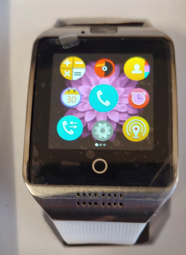 Q Series Cool White Smart Watch
