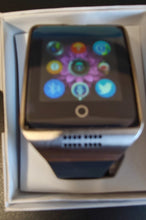 Q Series Smoke Black Smart Watch