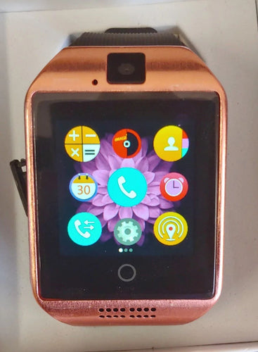 Q Series Rose Gold Smart Watch