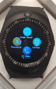 Y Series Charcoal Smart Watch