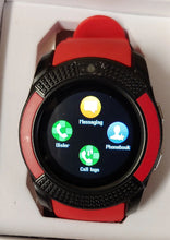 V Series Red Smart Watch