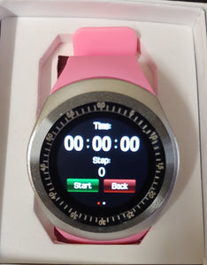 Y Series Powder Pink Smart Watch