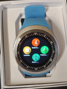Y Series Powder Blue Smart Watch